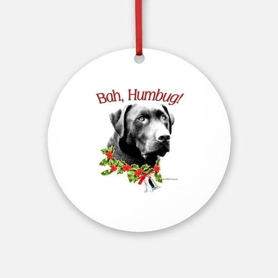 Lab Humbug Ornament (Round)