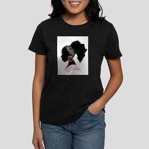 A QUEN BEAUTIFUL STRUGG Women's Cap Sleeve T-Shirt