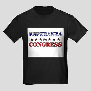 ESPERANZA for congress Kids Dark T-Shirt