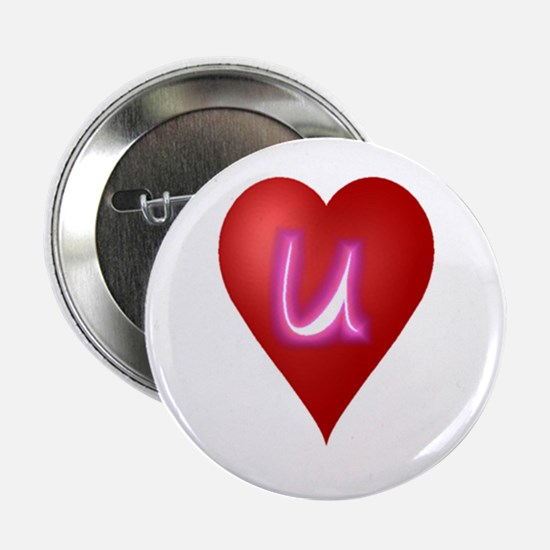 """Cute First valentines day 2.25"""" Button"""