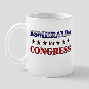 ESMERALDA for congress Mug