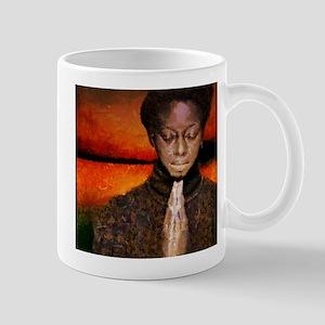 A prayer to God Mugs