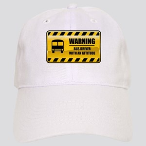 Warning Bus Driver Cap
