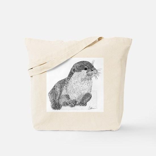 Otter Tote Bag