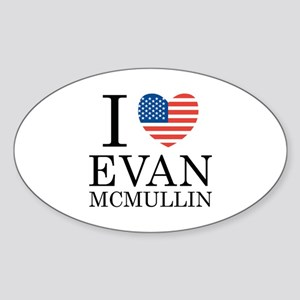 Evan McMullin For President Sticker (Oval)