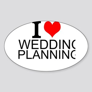 I Love Wedding Planning Sticker
