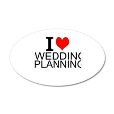 I Love Wedding Planning Wall Decal