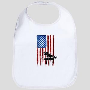 USA Flag Team Pommel Horse Bib
