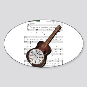 Ida's Dobro Oval Sticker