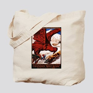 1924 Winter Olympics - Vintage Advertisement Tote