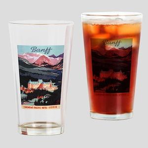Banff, Canada - Banff Springs Hotel Drinking Glass