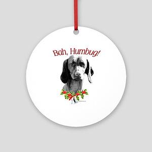 Vizsla Humbug Ornament (Round)