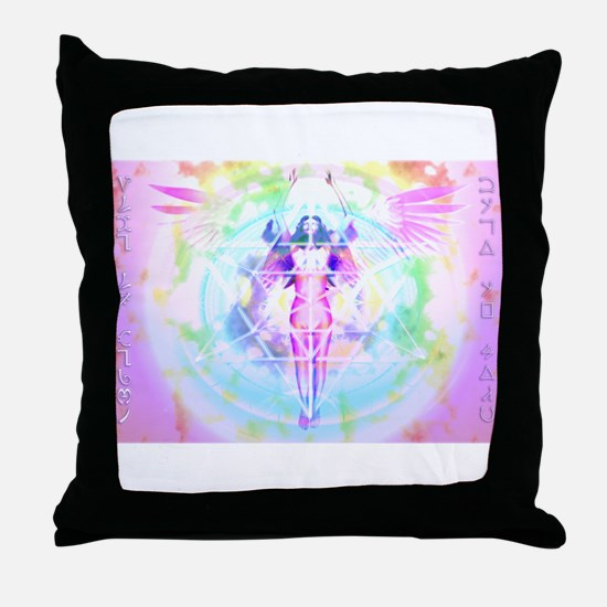 Body Of Light Version 4 Throw Pillow