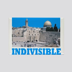 Israel Indivisible Rectangle Magnet