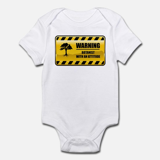 Warning Botanist Infant Bodysuit