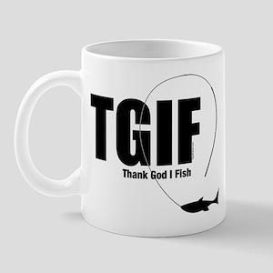 TGIF Fishing Mug