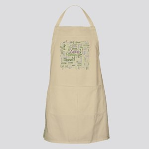 Anne of Green Gables Word Cloud Apron