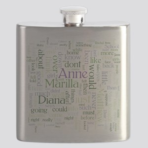 Anne of Green Gables Word Cloud Flask