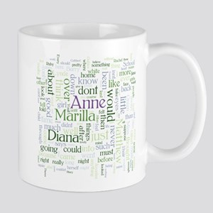 Anne of Green Gables Word Cloud Mugs