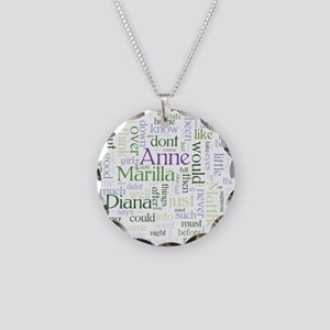 Anne of Green Gables Word Cloud Necklace