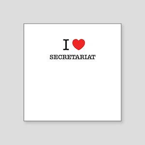 I Love SECRETARIAT Sticker