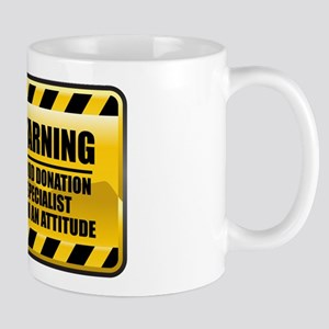 Warning Blood Donation Specialist Mug
