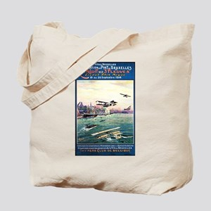 Cancelled Float Plane Show - Vintage Poster Tote B