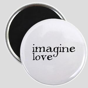 IMAGINE LOVE Magnet