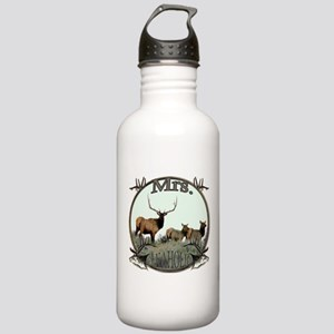Mrs Elkaholic Stainless Water Bottle 1.0L