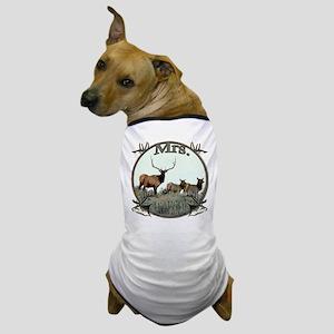 Mrs Elkaholic Dog T-Shirt