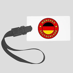 Munchen Deutschland Large Luggage Tag
