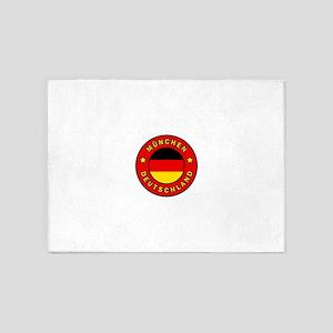 Munchen Deutschland 5'x7'Area Rug