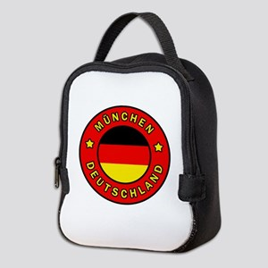 Munchen Deutschland Neoprene Lunch Bag