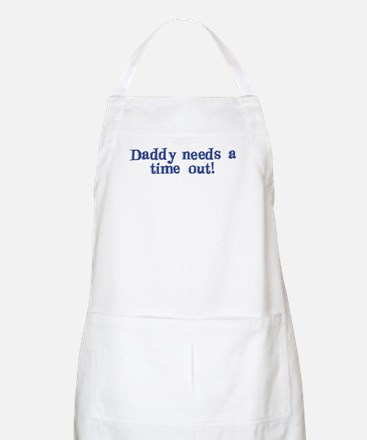 Daddy Time Out! BBQ Apron