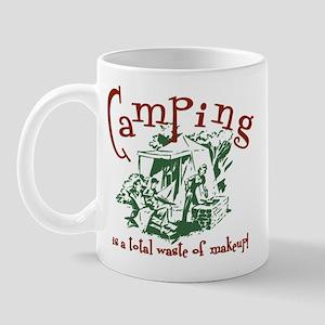 Camping Makeup Mug