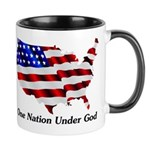 One Nation Under God Coffee Mug Mugs