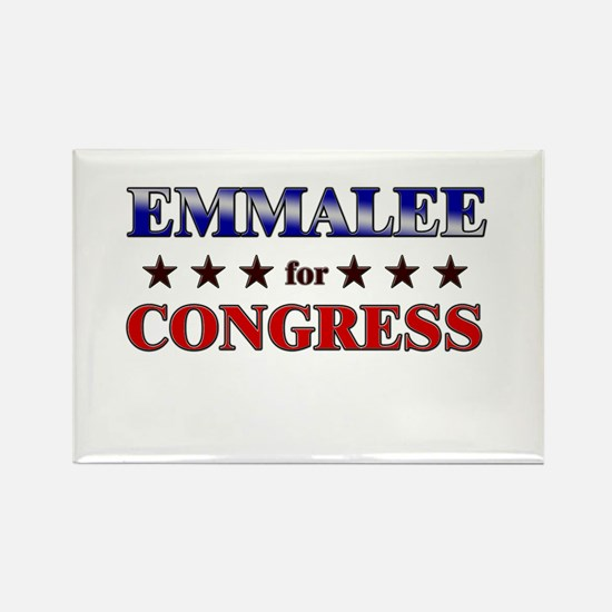 EMMALEE for congress Rectangle Magnet