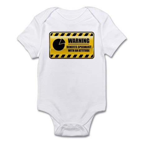 Warning Benefits Specialist Infant Bodysuit