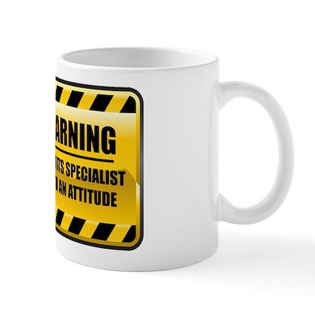 Warning Benefits Specialist Mug