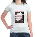 Einstein 1947 Jr. Ringer T-Shirt