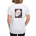 Einstein 1947 Women's V-Neck T-Shirt