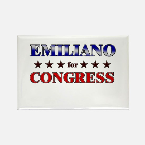 EMILIANO for congress Rectangle Magnet