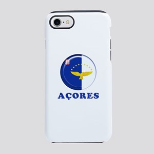 Azores islands flag iPhone 8/7 Tough Case