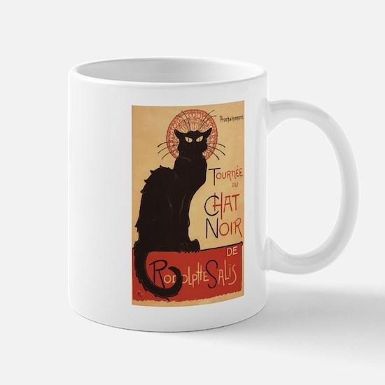 Chat Noir Cabaret Troupe Black Cat Mugs