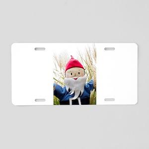 Thistle Gnome Aluminum License Plate