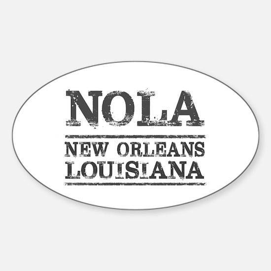 NOLA New Orleans Vintage Decal