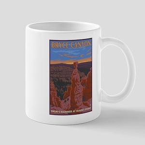 Bryce Canyon, Utah - Thor's Hammer Mugs