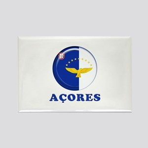 Azores islands flag Magnets