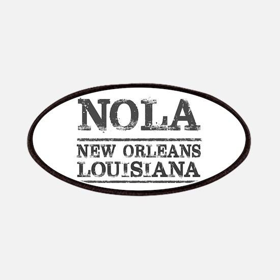 NOLA New Orleans Vintage Patch