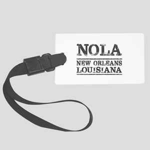 NOLA New Orleans Vintage Large Luggage Tag